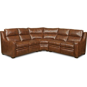 CARSON� FULL RECLINE SECTIONAL