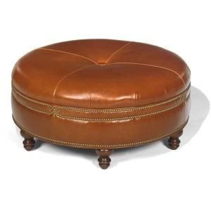 Ashford Leather Ottoman