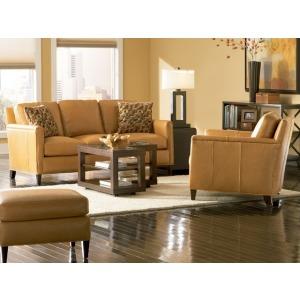 Astoria Stationary Leather Sofa