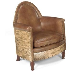 Avington Stationary Leather Chair