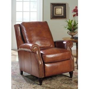 Barcelo High Leg Leather Lounger