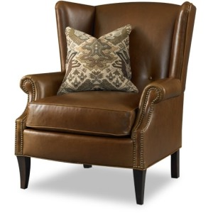 Bethel Stationary Leather Chair