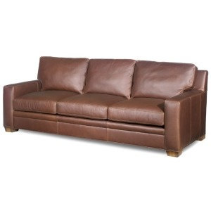 Hanley Stationary Leather Sofa
