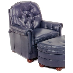 Rockwell Hand Tied Varitilt Leather Chair