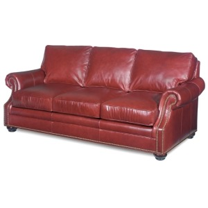 Warner Stationary Leather Sofa