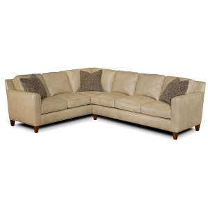 Yobra Leather Sectional