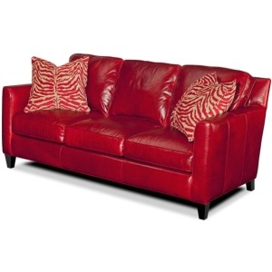 Yorba Stationary Leather Sofa