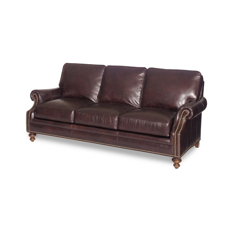 West Haven Stationary Leather Sofa