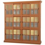 English Bookcase 2 Column W/ 12 LED - LDT