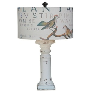 Althorp Lamp Base W/ Shade
