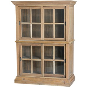 English Bookcase Two Layer Small