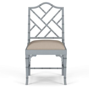 Martinique Bamboo Dining Chair - Grey Charlestone
