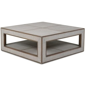 Finsbury Square Coffee Table - Straw Wash