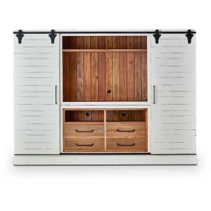 Sonoma Entertainment Cabinet W/ Sliding Doors