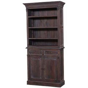 Hudson Bookcase 1 Column W/o Sliding Doors