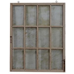 Italian Window W/ Aged Glass