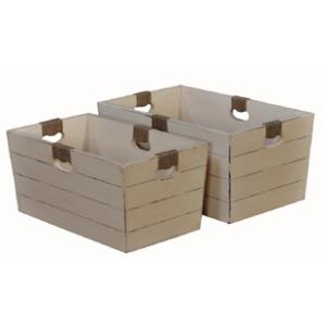 Handcock Storage Box Set of 2