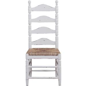 New England Ladder Back Chair - White Harvest