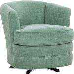 Greyson Fabric Swivel Tub Chair