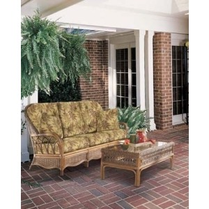 Wicker Sofa Ocean Isle