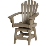 Coastal Swivel Dining Chair