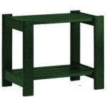 Basics Side Table - Forest Green