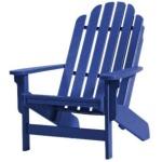 Shoreline Adirondack Chair - Blueberry