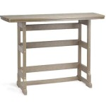 "21"" x 60"" Bar Height Terrace Table"