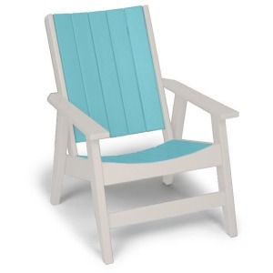 Chill Chat Chair - White & Seafoam
