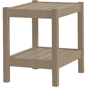 Accent Table Weatherwood