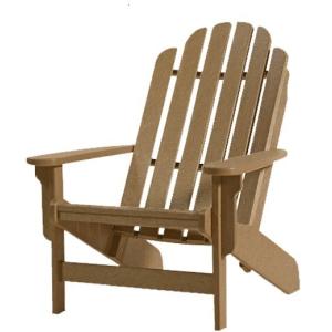 Shoreline Adirondack Chair - Weatherwood