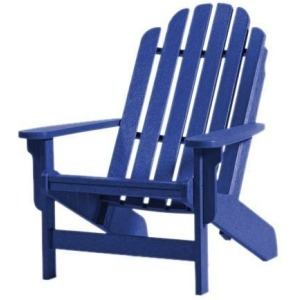 Shoreline Adirondack Chair - Blueberry