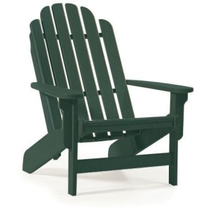 Shoreline Adirondack Chair - Forest Green