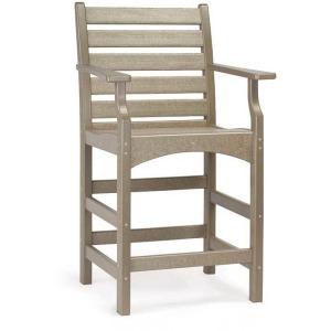 Piedmont Captain's Counter Arm Chair