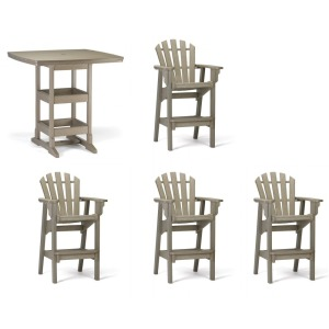 Coastal 5PC Dining Set