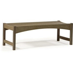 "Skyline 48"" Backless Bench"
