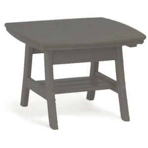 Contemporary Accent Table - Slate