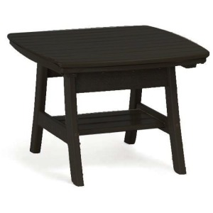 Contemporary Accent Table - Black