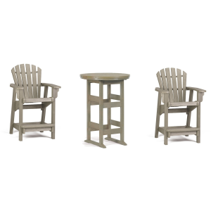 Coastal 3PC Counter Height Outdoor Dining Set