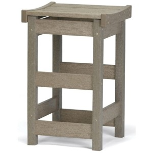 Counter Stool with Contoured Seat