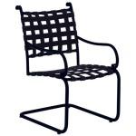 Roma Suncloth Strap Spring Base Chair