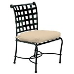 Side Chair w/ Loose Cushion