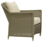 Lounge Chair w/ Loose Cushions and Pillow