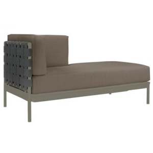 Crossings Left Arm Chaise