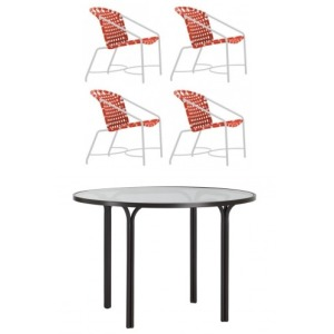 Kantan 5 PC Dining Set