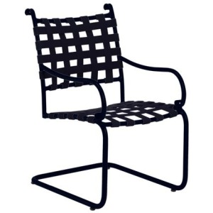 Roma Suncloth Strap Spring Base Chair