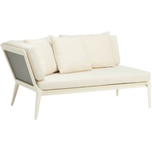 Right Unit Sectional, Loose Cushions and 3 Pillows
