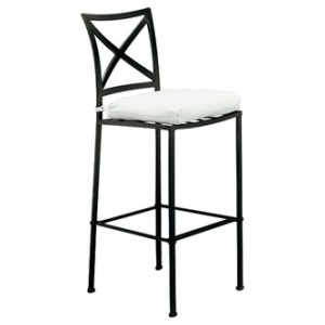 Bar Stool w/ Loose Cushion