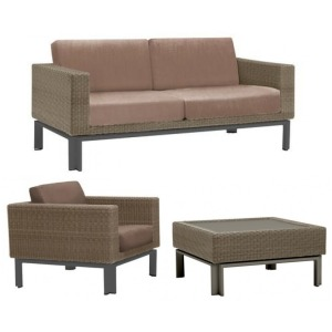 IL Viale 3 PC Outdoor Lounge Set