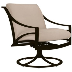 Pasadena Cushion Swivel Motion Lounge Chair, Cushion